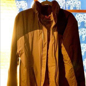 Lands' End Jacket. Hooded squall Winter Jacket